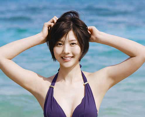「めざましテレビ」新イマドキガール松田紗和が初グラビア 地上波初出演で即話題の美少女ぶり