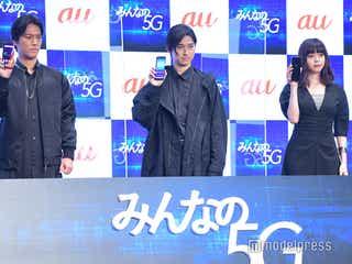 松田翔太&桐谷健太、クールな姿を池田エライザが絶賛「素敵」 3人でイベント初共演