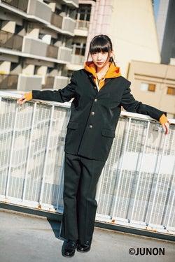 """NGT48荻野由佳""""学ラン""""姿披露「着たいなと思ってた」"""