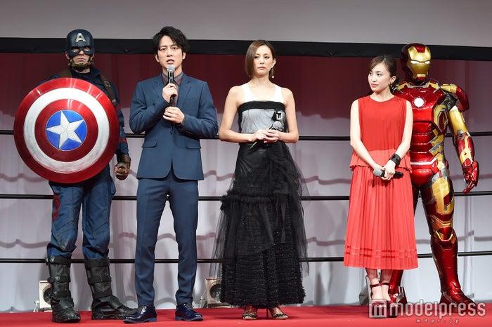 キャプテン・アメリカ、溝端淳平、米倉涼子、百田夏菜子、アイアンマン(C)モデルプレス