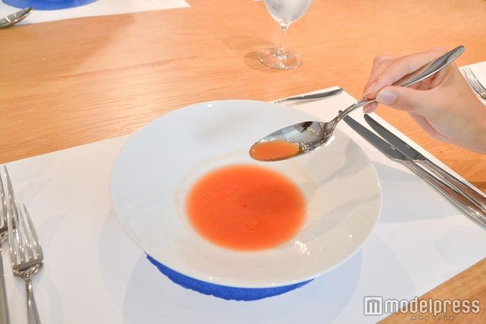 トマト酵母の生ガスパチョ(C)モデルプレス