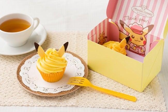 ピカチュウをイメージしたカップケーキ/画像提供:エスエルディー