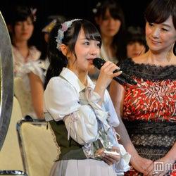 AKB48向井地美音、選抜逃す「また上を目指したい」<第9回AKB48選抜総選挙>