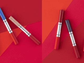 鮮やかな赤にクリスタルの輝きを!「RMK」にルージュとグロスが1本になったリップがお目見え