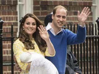 英ウィリアム王子夫妻、注目のプリンセスの名前が発表