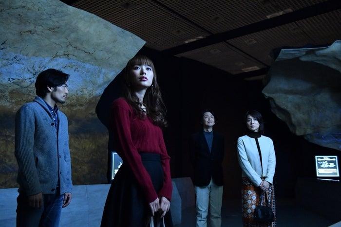 (左から)内田理央、大谷亮平、岡田浩暉、石田ゆり子(C)TBS
