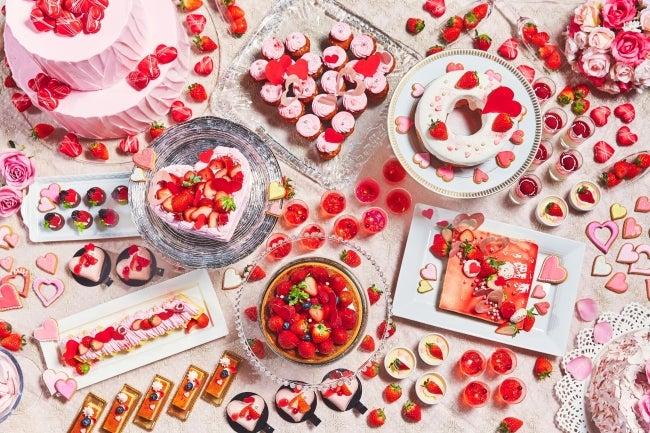 恋するいちごのデザートブッフェ2020/画像提供:ツカダ・グローバルホールディング