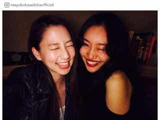 河北麻友子&忽那汐里、笑顔全開2ショットに「オーラ溢れてる」「美人すぎ」の声