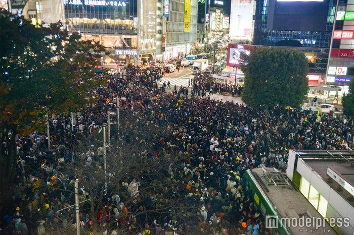 <ハロウィン当日>渋谷、超パニック (C)モデルプレス