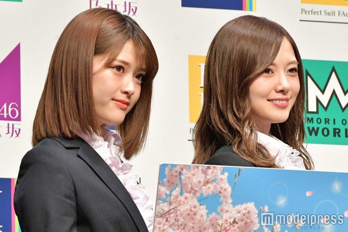 松村沙友理、白石麻衣(C)モデルプレス