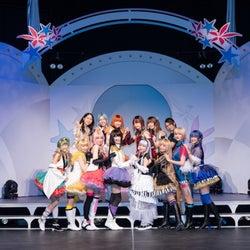 【ゲネプロレポート】女神候補生による「メガステ」開幕、Fluna&Seleasの絢爛なステージ
