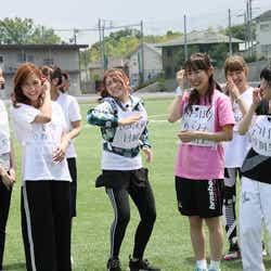 ロンドンハーツ「~もう一度花咲かせたい!~元AKB48だらけの非公認運動会」写真提供:テレビ朝日
