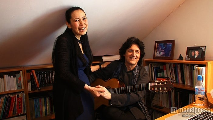 「世界の日本人妻は見た」スペインの日本人妻・真理子さんと夫・カニサレスさん/画像提供:毎日放送【モデルプレス】