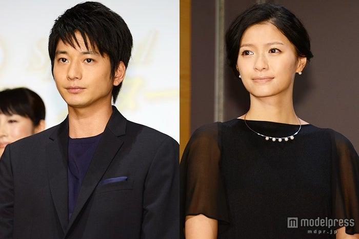 初の夫婦役を演じる向井理(左)と榮倉奈々(右)【モデルプレス】