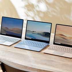 「Surface Laptop Go」紹介ページ