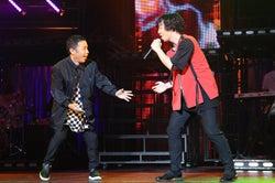 「めちゃイケ」岡村隆史×三浦大知コラボ、高レベルダンスに感激の声 まさかのステージ乱入も話題「笑って泣ける」「かっこよすぎて惚れた」