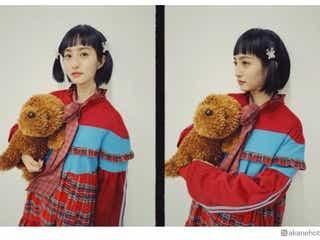 堀田茜、オン眉ツインテールショット公開「アップするのに勇気がいりました」