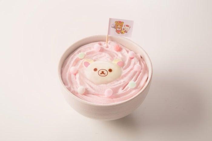コリラックマのふわふわカレーうどん¥1,190(C)2018 San-X Co., Ltd. All Rights Reserved.
