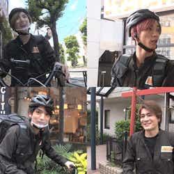 (左上から時計回り)京本大我、田中樹、森本慎太郎、高地優吾 (C)フジテレビ