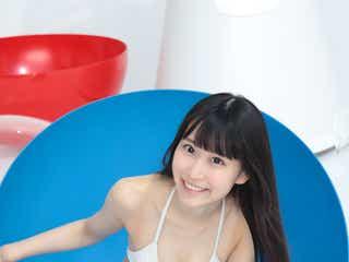 注目のアイドル「ハニースパイスRe.」宮花もも、スレンダーな水着姿披露<未公開カット到着>