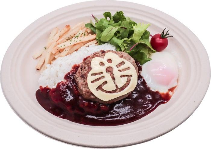 ドラえもんロコモコ丼1,200円(C)Fujiko-Pro