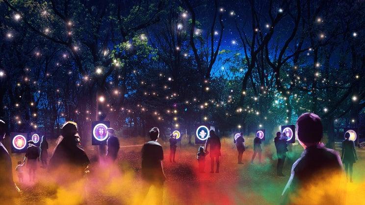 夜の大阪城で3年限定「サクヤルミナ」開催、新ナイトウォーク体験で物語の世界へ