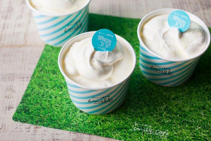 ミルキークリームのふわとろシフォンケーキ¥600/画像提供:オペレーションファクトリー