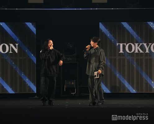 Creepy Nuts「TGC」初登場 DJ松永、EXITに東京オリンピック閉会式出演後の変化指摘される<TGC2021A/W>