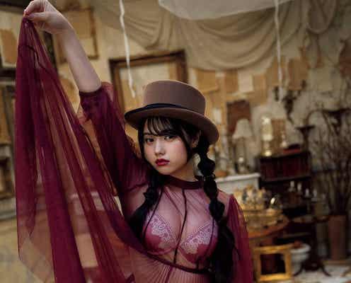"BLACKNAZARENE""ドール系美女""村田実果子のたわわバストにドキッ 幻想的グラビアで魅了"