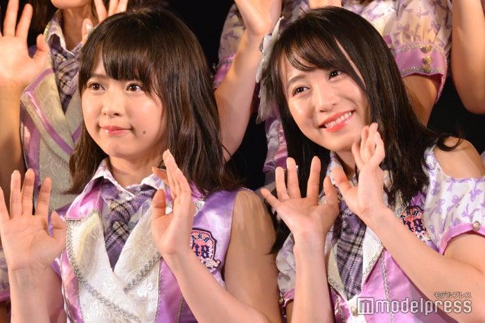 倉野尾成美、坂口渚沙/AKB48チーム8「その雫は、未来へと繋がる虹になる。」公演 (C)モデルプレス