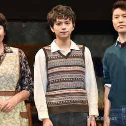 (左から)松下由樹、佐藤勝利、入野自由(C)モデルプレス