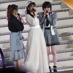 西野未姫、小嶋真子、岡田奈々 (C)モデルプレス