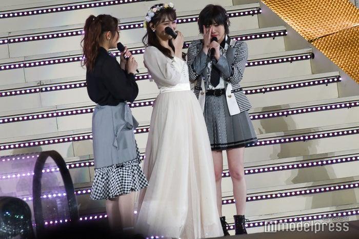 西野未姫、小嶋真子、岡田奈々(C)モデルプレス