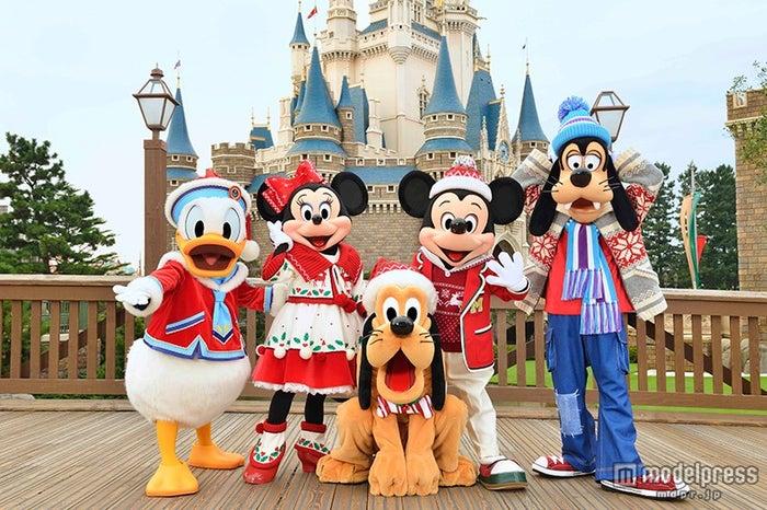 パレード「ディズニー・クリスマス・ストーリーズ」のコスチューム(C)Disney【モデルプレス】