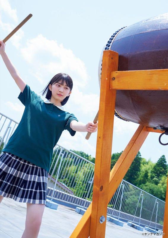 森田ひかる(C)岡本武志/ヤングマガジン