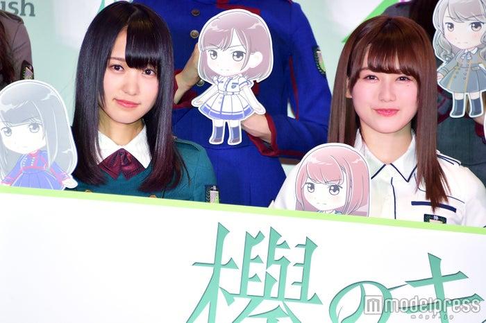 菅井友香、守屋茜 (C)モデルプレス