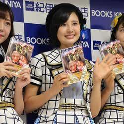 (左から)多田愛佳、兒玉遥、穴井千尋