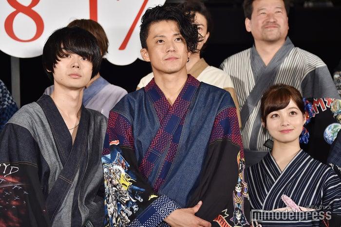 菅田将暉、小栗旬、橋本環奈 (C)モデルプレス