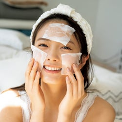 櫻坂46田村保乃、圧倒的彼女感が満載 スキンケア中の貴重な姿も<独占カット>