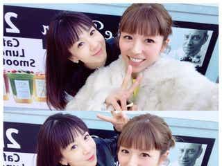 若槻千夏、ほしのあきと2ショット公開 「可愛すぎ」「時が止まってる」と驚きの声