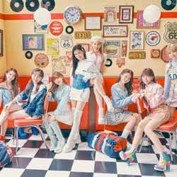 NiziU/2nd Single「Take a picture/Poppin' Shakin'」ビジュアル (提供写真)