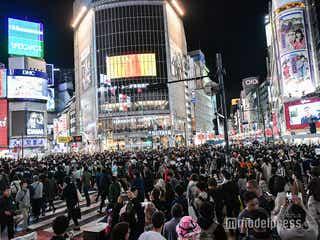 <ハロウィン>渋谷大パニック 警笛響く厳戒態勢