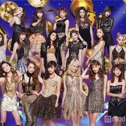 E-girls、新曲初披露で圧巻ダンス Dream、Happiness、Flowerヒットメドレーも