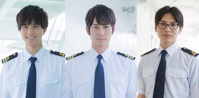 (左から)水野勝、平岡祐太、宮崎秋人(提供写真)