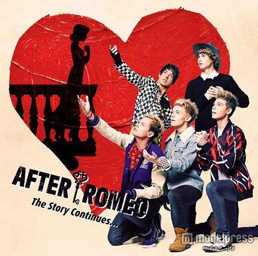 アフター・ロミオの1stアルバム「The Story Continues…」(4月1日発売)通常盤