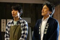 こんな息子がほしい!大地役がハマってる/(左から)山崎賢人、役所広司/「陸王」より(画像提供:TBS)