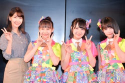 AKB48柏木由紀、鈴木くるみ、田口愛佳、矢作萌夏(C)モデルプレス