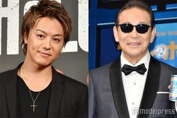 武井咲と結婚のEXILE TAKAHIRO、タモリから祝福受ける