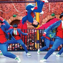 今春、初登場したストリート・ライブ『ナイトロ・ダンス・クルー』/画像提供:ユー・エス・ジェイ