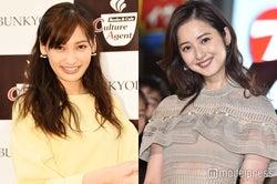 左から大政絢、佐々木希 (C)モデルプレス